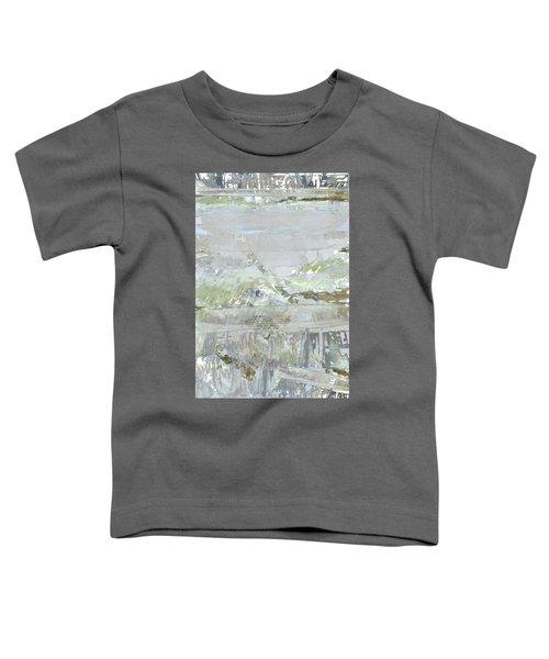 A Glass Half Full Toddler T-Shirt