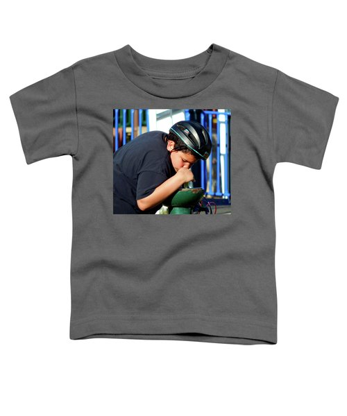 A Guy Gets Thirsty Ya Know Toddler T-Shirt