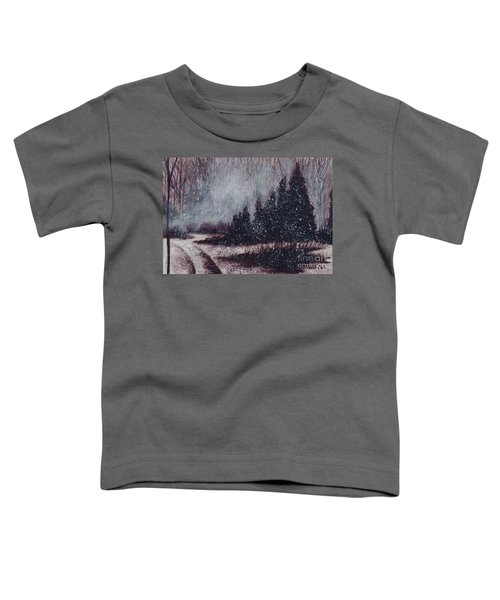 A Hazy Shade Of Winter  Toddler T-Shirt