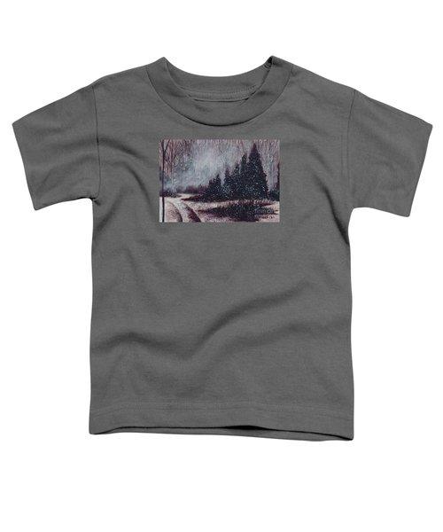 A Hazy Shade Of Winter  Toddler T-Shirt