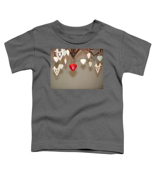 A Heart Among Hearts I Toddler T-Shirt