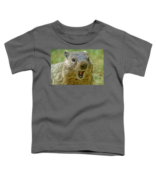 A Hungry Fellow  Toddler T-Shirt by Paul W Faust - Impressions of Light