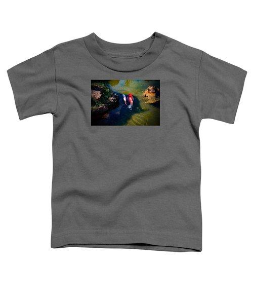 A Koi Romance Toddler T-Shirt