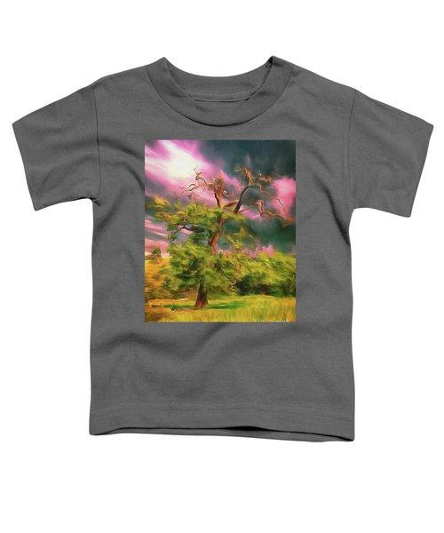 A Little Bit Worse For Wear Toddler T-Shirt
