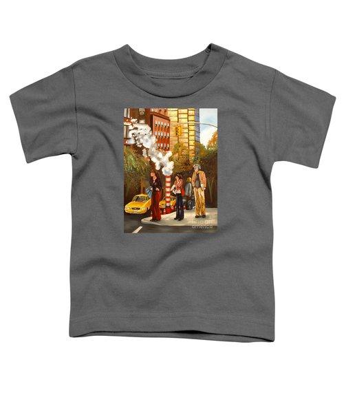 A Little Bite Of The Big Apple Toddler T-Shirt