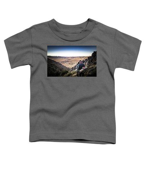 A Long Walk Through Joshua Tree Toddler T-Shirt