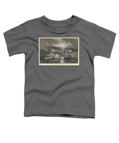 A Midnight Race On The Mississippi Toddler T-Shirt