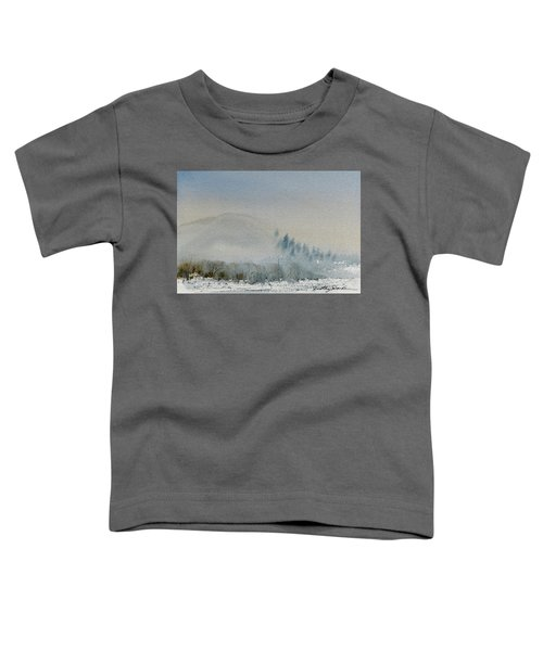 A Misty Morning Toddler T-Shirt