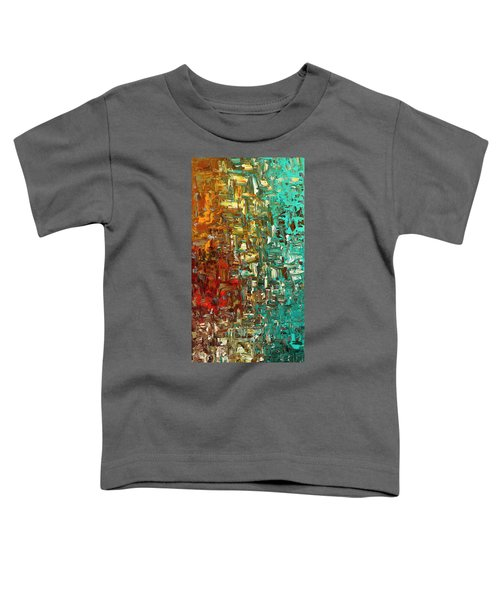A Moment In Time - Abstract Art Toddler T-Shirt