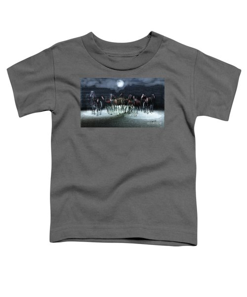 A Night Of Wild Horses Toddler T-Shirt