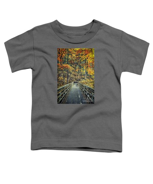 A Path Into Autumn Toddler T-Shirt