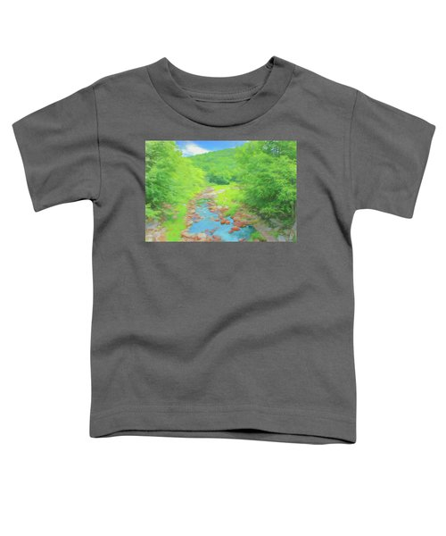 A Peaceful Summer Day In Southern Vermont. Toddler T-Shirt