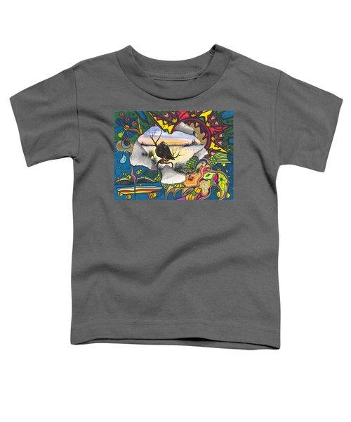 A Punch Through Toddler T-Shirt