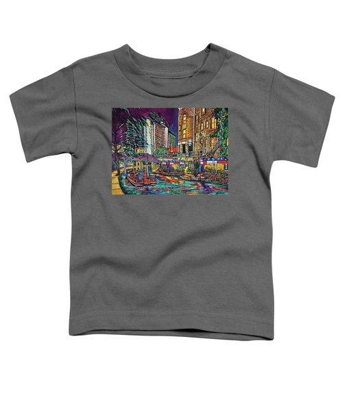 A San Antonio Christmas Toddler T-Shirt