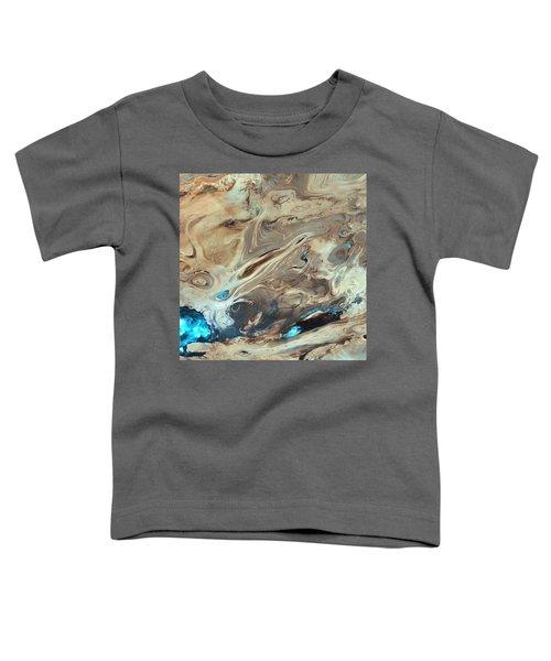 A Satellite Picture Of The Dasht-e Kavir Desert In Iran. Toddler T-Shirt