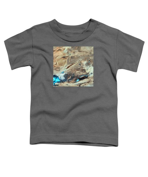 A Satellite Picture Of The Dasht-e Kavir Desert In Iran. Toddler T-Shirt