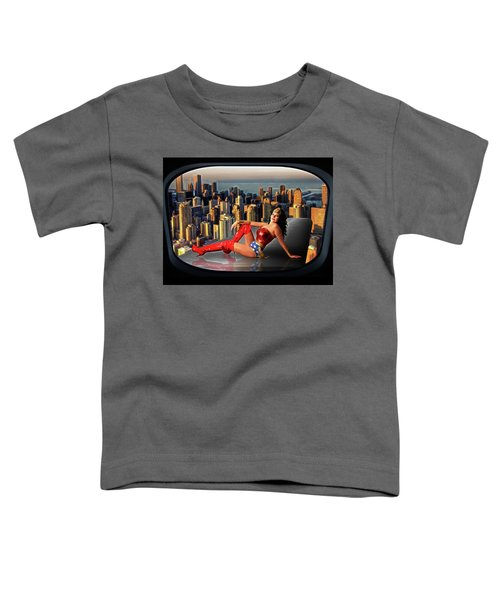 A Seat With A View Toddler T-Shirt