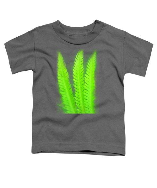 A Simply Green Fern Toddler T-Shirt