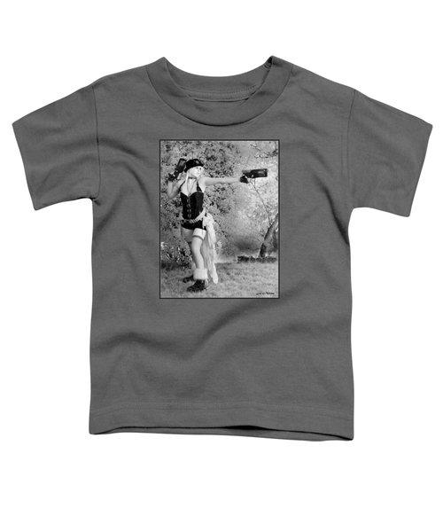 A Steam Punk Heroine Toddler T-Shirt