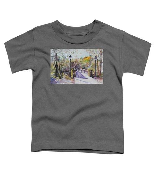 A Stroll On The Bridge Toddler T-Shirt