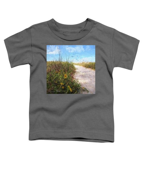 A Trail To The Beach Toddler T-Shirt