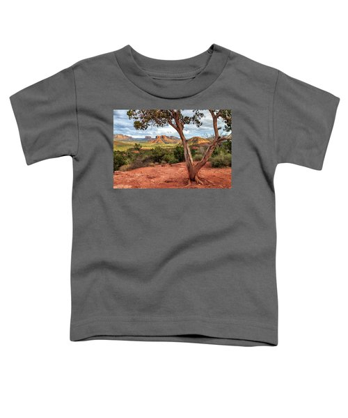 A Tree In Sedona Toddler T-Shirt