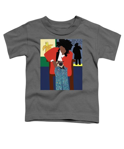 A Tribute To Jean-michel Basquiat Toddler T-Shirt