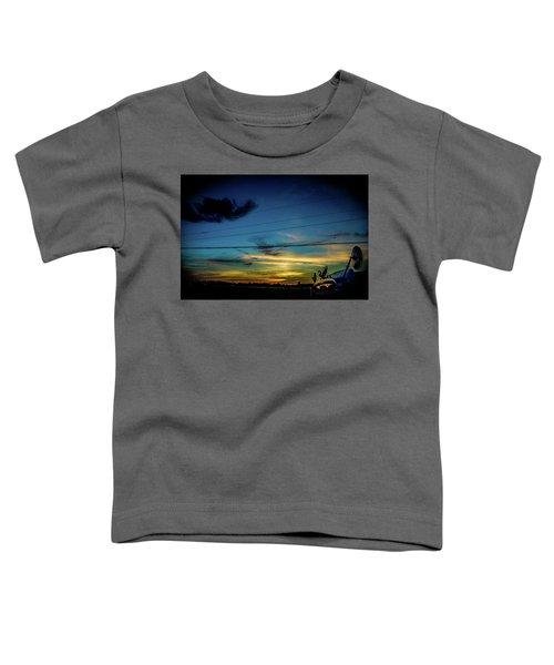 A Trucker's View Toddler T-Shirt