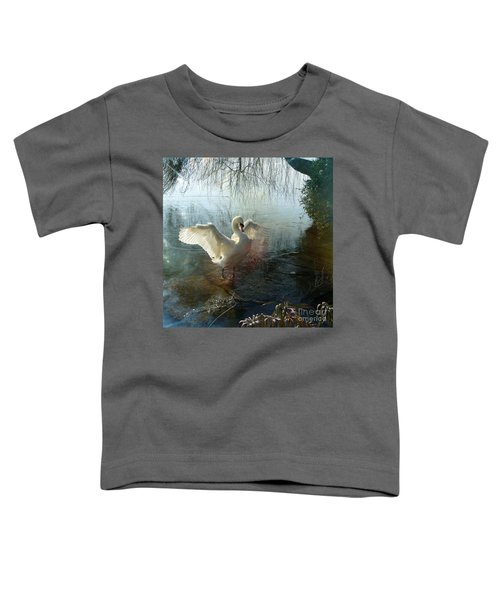 A Very Fine Swan Indeed Toddler T-Shirt