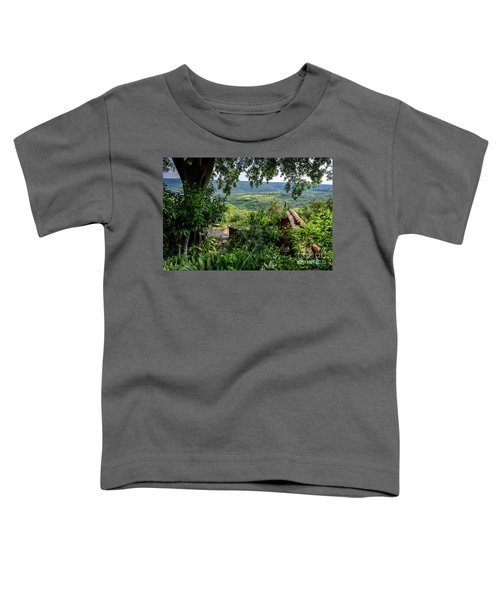 A View From Groznjan Of The Istrian Hill Town Countryside, Istria, Croatia Toddler T-Shirt