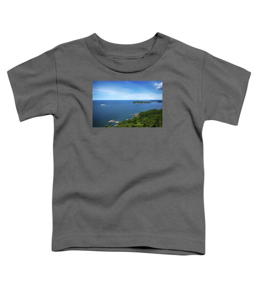 A View From Sugarloaf Mountain Toddler T-Shirt