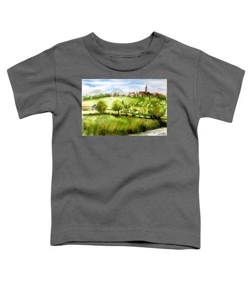 A View From Tuscany Toddler T-Shirt
