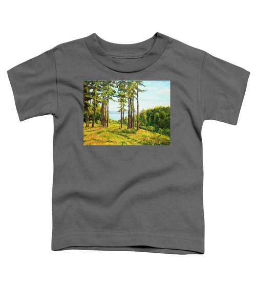 A View To The Lake Toddler T-Shirt