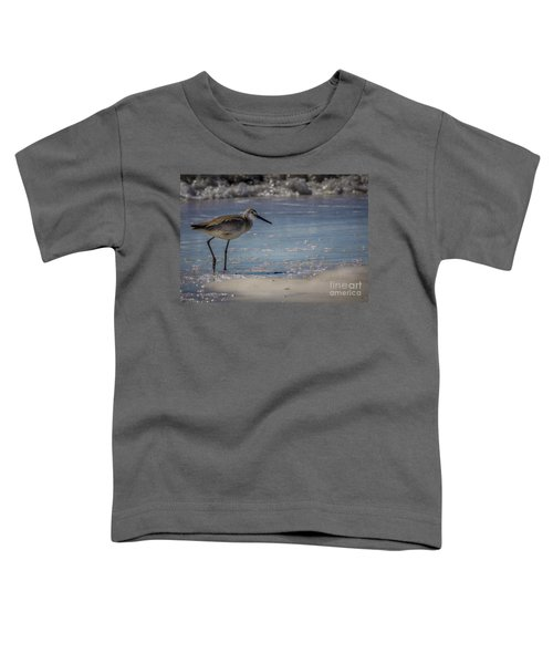 A Walk On The Beach Toddler T-Shirt by Marvin Spates