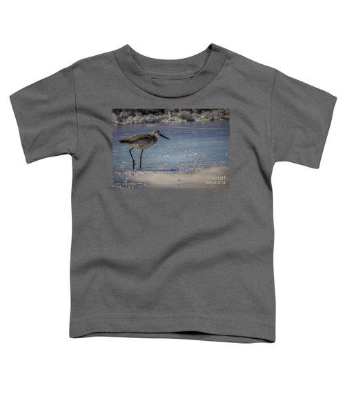 A Walk On The Beach Toddler T-Shirt