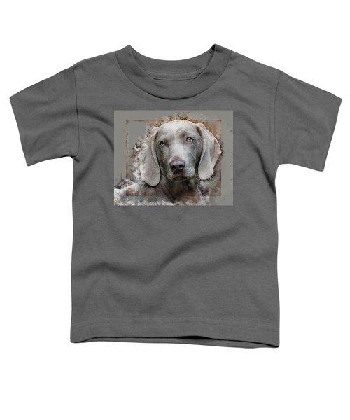A Weimaraner Toddler T-Shirt
