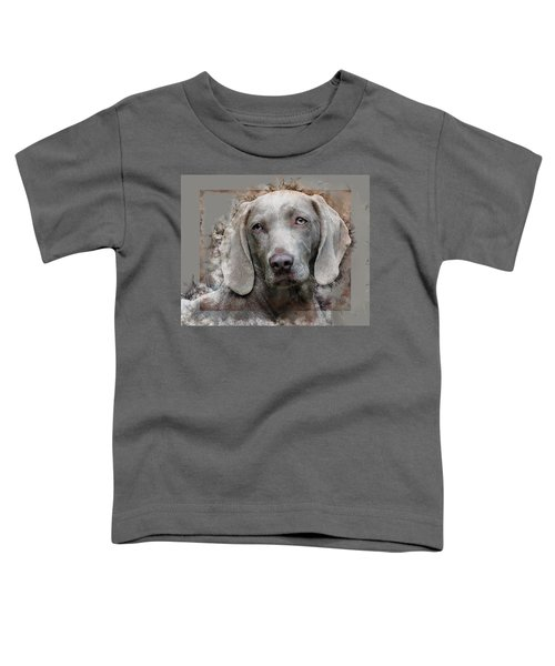 A Weimaraner Toddler T-Shirt