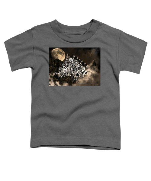 A Wild Steampunk Zebra Toddler T-Shirt