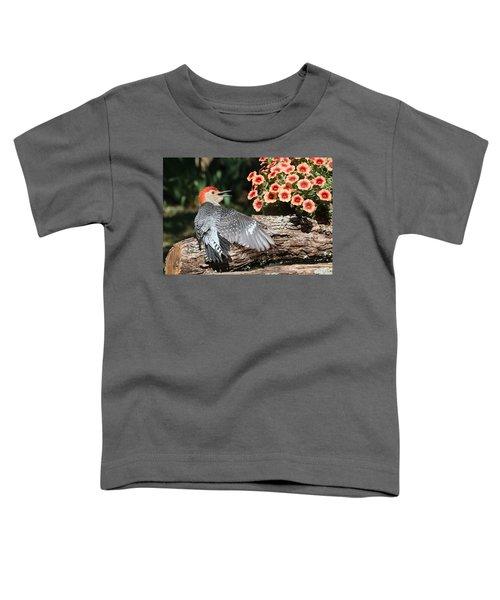 A Woodpecker Conversation Toddler T-Shirt