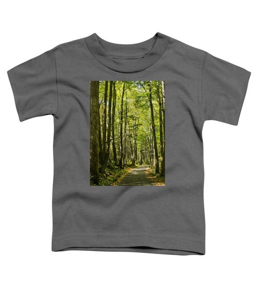 A Woodsy Trail Toddler T-Shirt