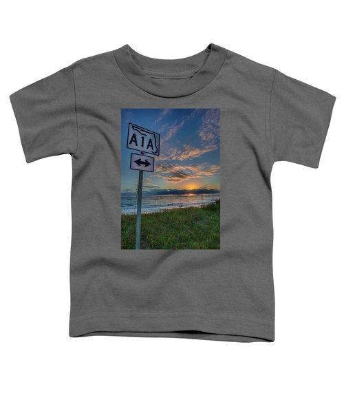 A1a Sunrise Toddler T-Shirt