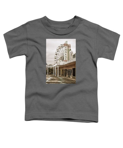 Abandoned Arcade And Ferris Wheel Toddler T-Shirt