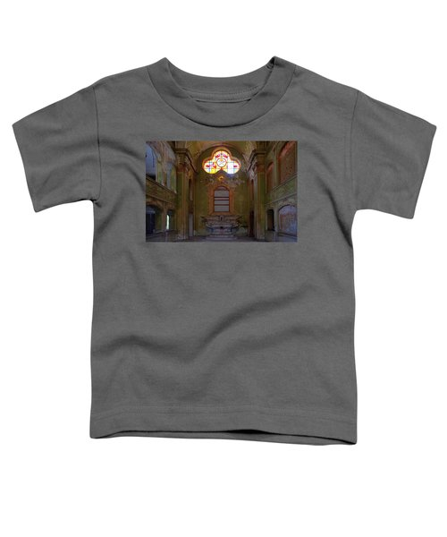 Abandoned Chapel Of An Important Liguria Family I - Cappella Abbandonata Di Famiglia Ligure 1 Toddler T-Shirt