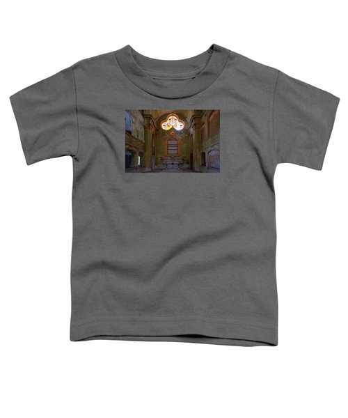 Abandoned Chapel Of An Important Liguria Family I - Cappella Abbandonata Di Famiglia Ligure 1 Toddler T-Shirt