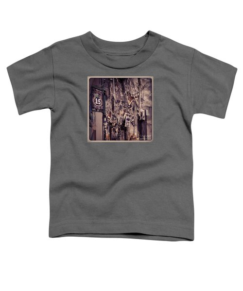 Abandoned Puerto Rico Toddler T-Shirt