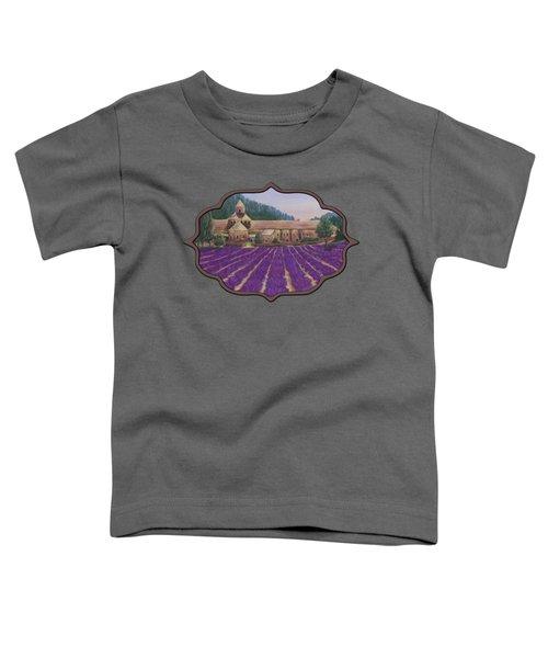 Abbaye Notre-dame De Senanque Toddler T-Shirt