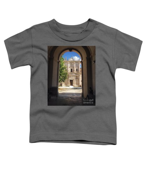 Abbey Of The Holy Spirit At Morrone In Sulmona, Italy Toddler T-Shirt