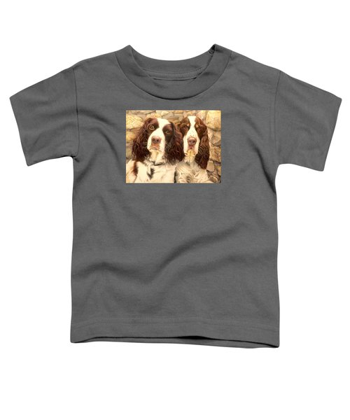 Abby And Romeo Toddler T-Shirt