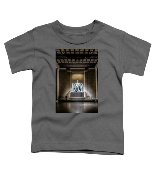 Abe Lincoln Under His Night Lights  Toddler T-Shirt