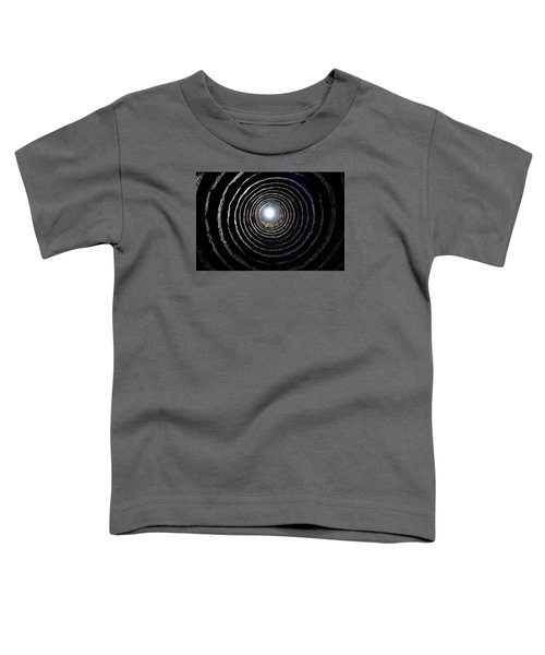 Toddler T-Shirt featuring the photograph Aberdour Castle Dovecot by Jeremy Lavender Photography